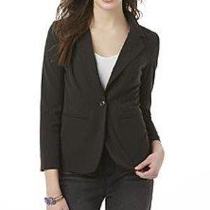 Candies NWT Black Juniors Suiting Blazer sz XL